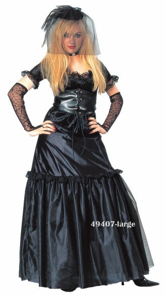 Teen Gothic Bride Costume