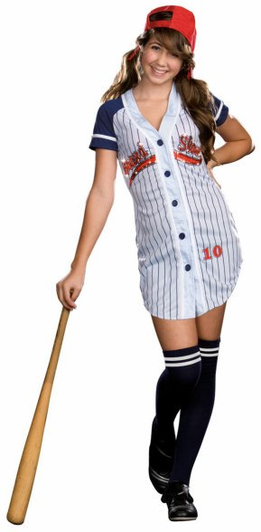Teen Grand Slam Baseball Costume