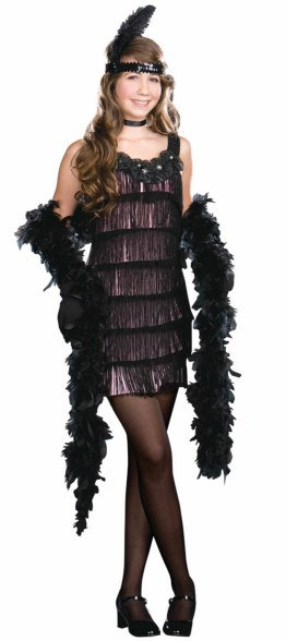 Teen 20's Flapper Costume