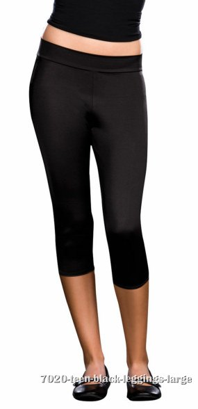 Teen Black Leggings