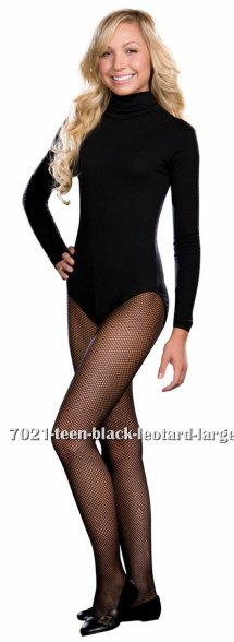 Teen Black Leotard