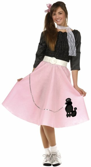 50's Girl Poodle Skirt Costume