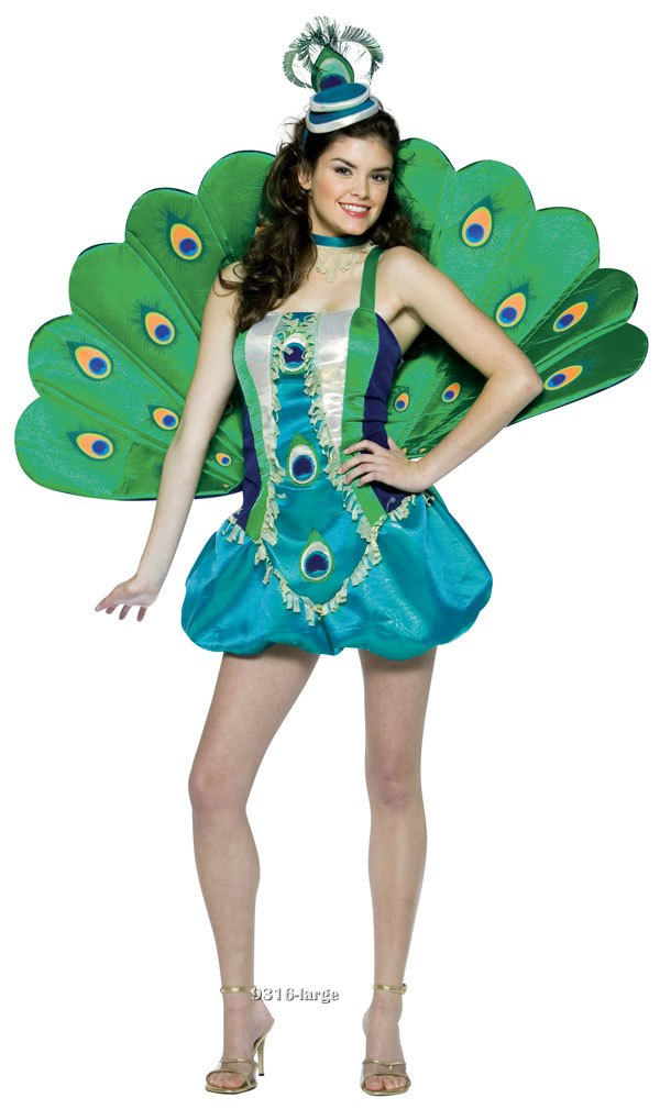 Teen Peacock Costume