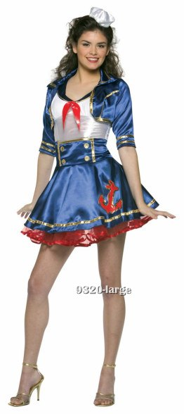 Teen Sailor Gal Costume