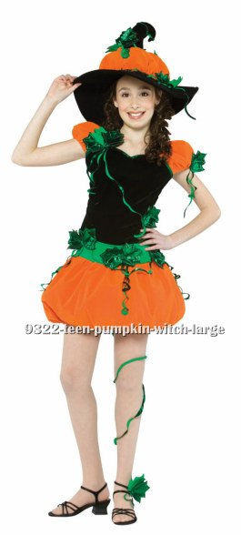 Teen Pumpkin Witch