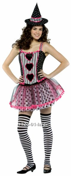 Teen Spelladonna Pink Witch Costume
