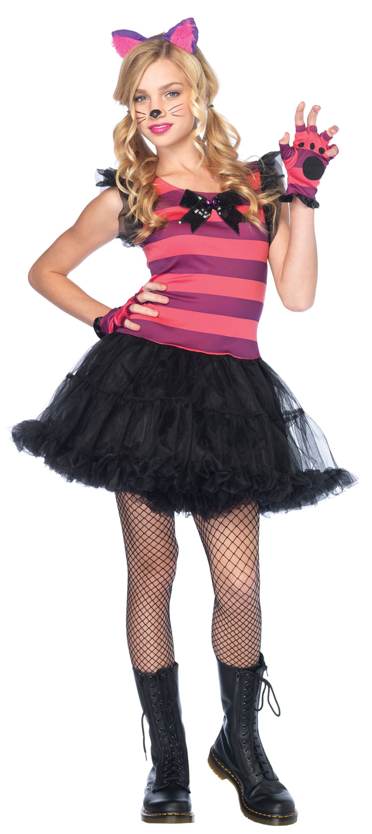 Teen Charming Cheshire Cat Costume