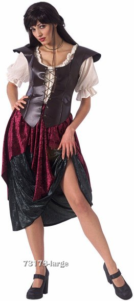Adult Renaissance Wench Costume