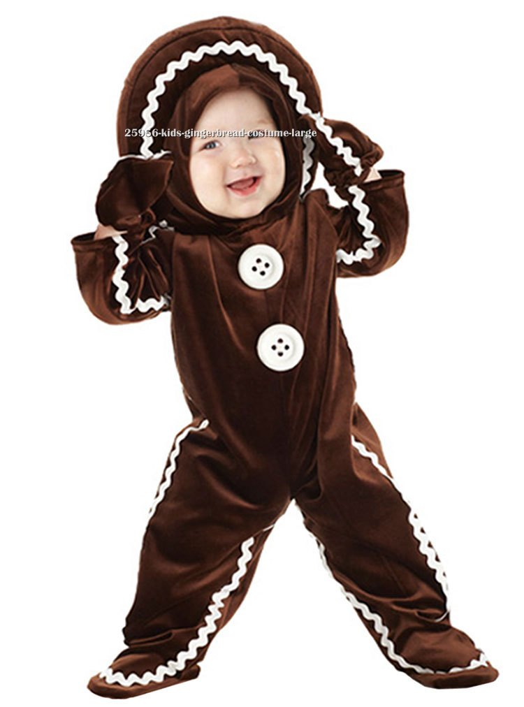 Baby and Kids Gingerbread Costume