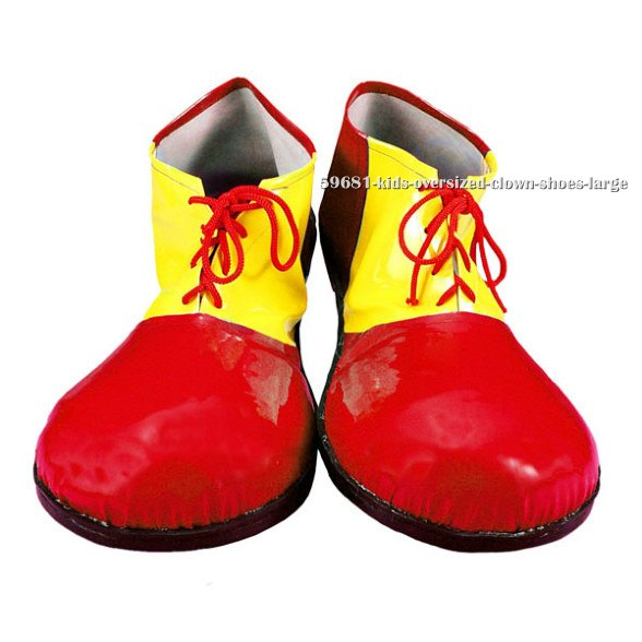 Kids Oversized Clown Shoes