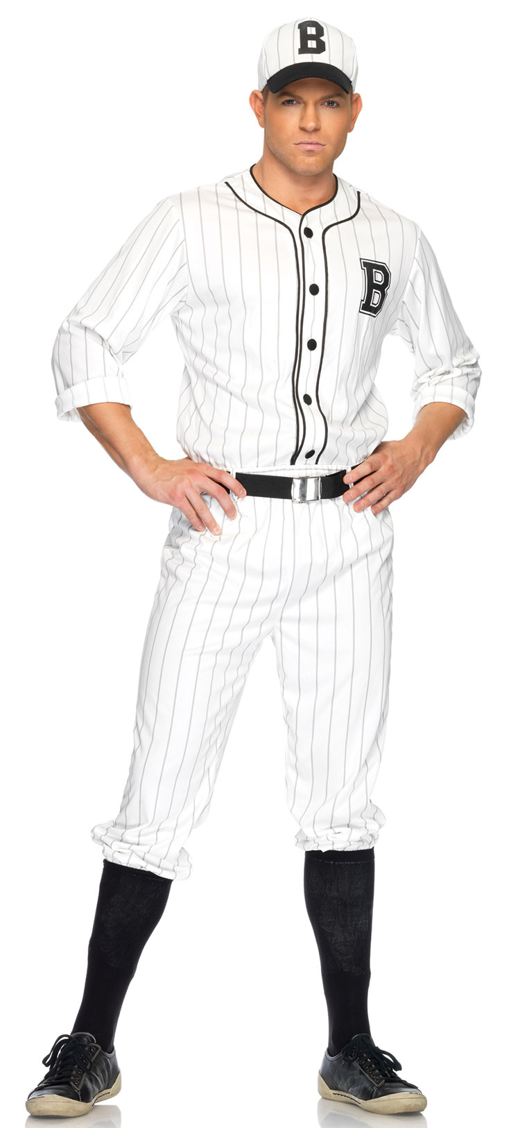 Retro Baseball Player Costume
