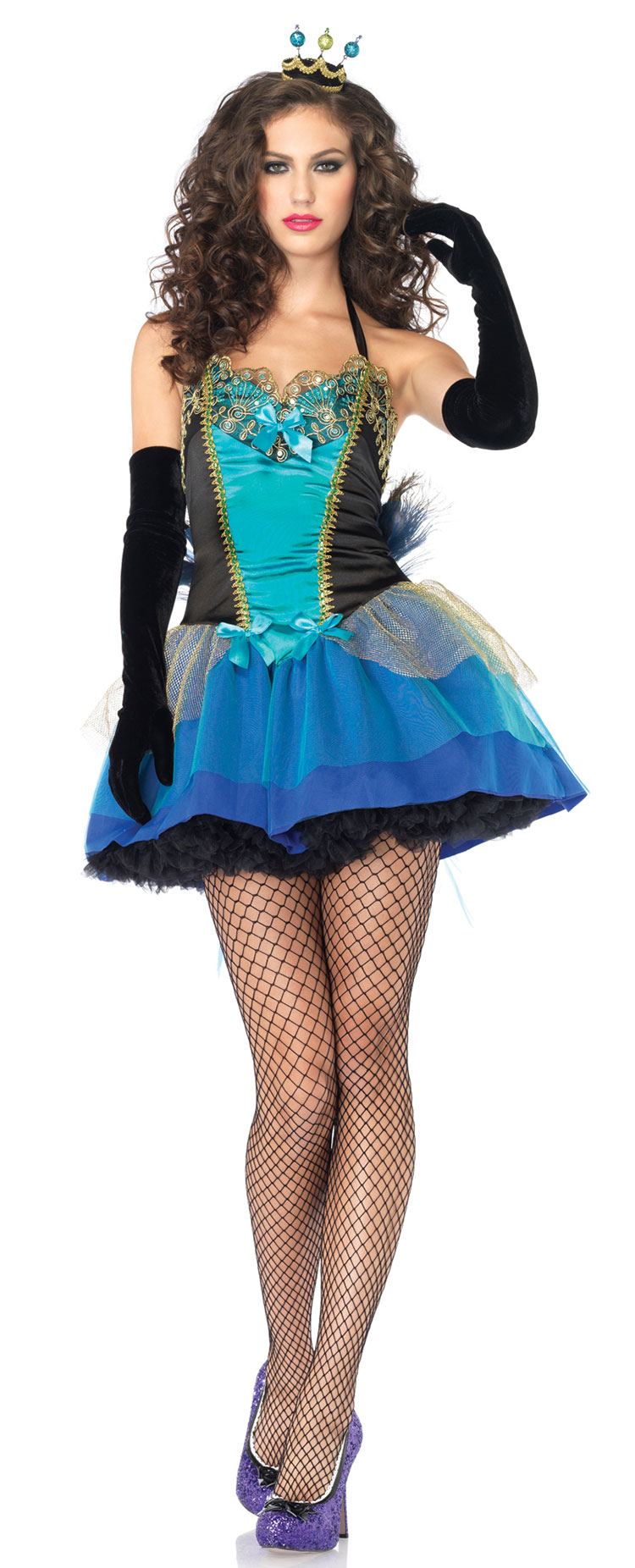 Blue Beauty Costume