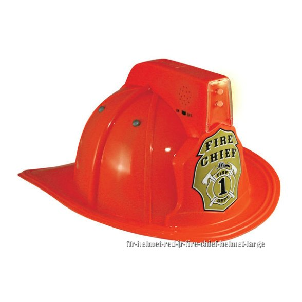 Red Jr. Fire Chief Helmet