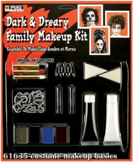 Dark and Dreary Family Makeup Kit