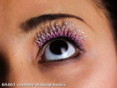 Glitzy Eyelashes