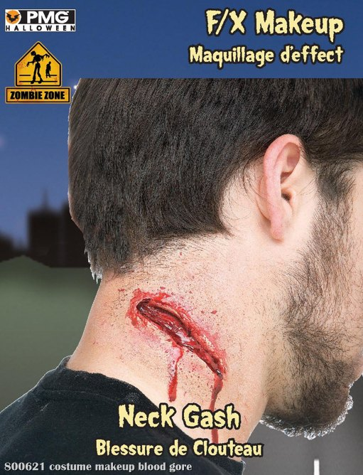 Zombie Zone Neck Gash Appliance Kit