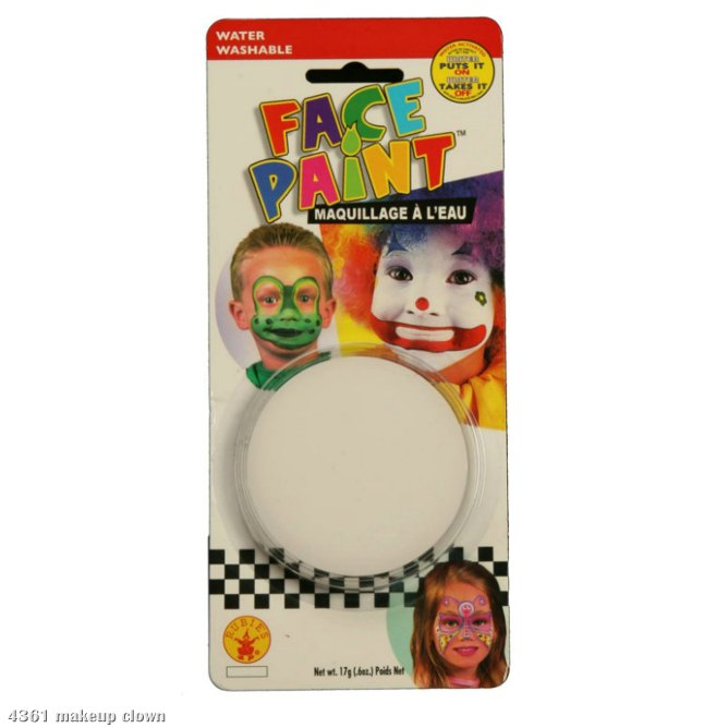 Clown White Face Paint