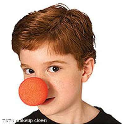 Red Sponge Clown Nose