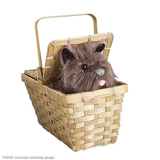 Toto In Basket Deluxe - Click Image to Close