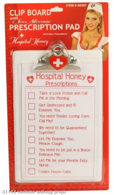 Hospital Honey Clip Board