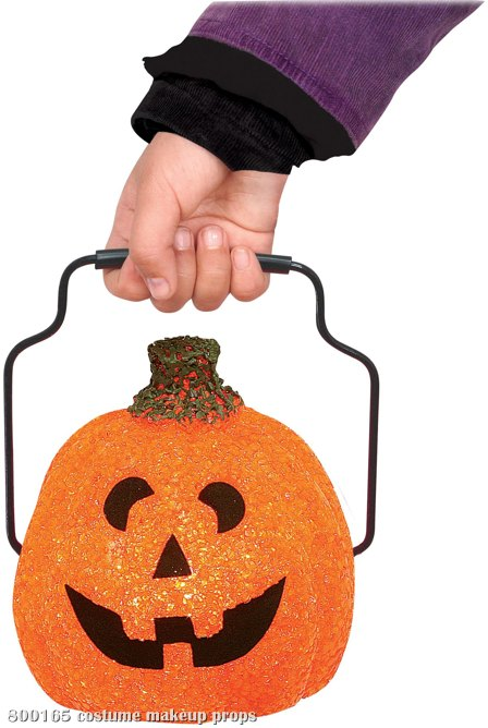 Orange Trick & Treat Lantern (Child)