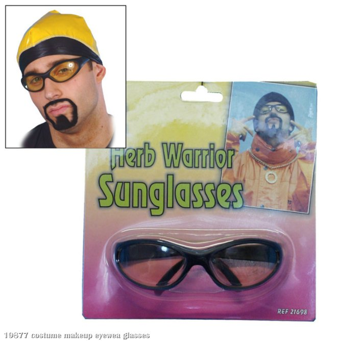 Rapper Yellow Lense Specs