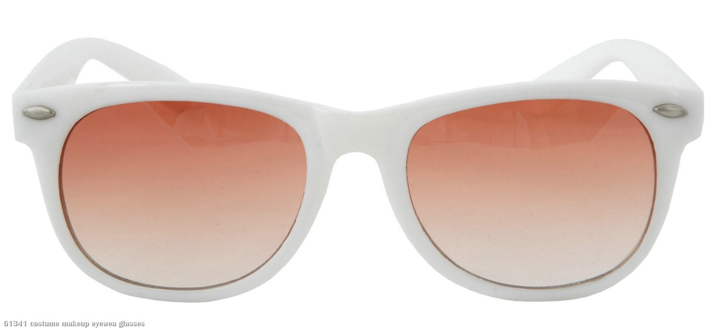 Way Cool White Adult Sunglasses
