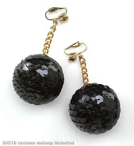 Sequined Ball Earrings