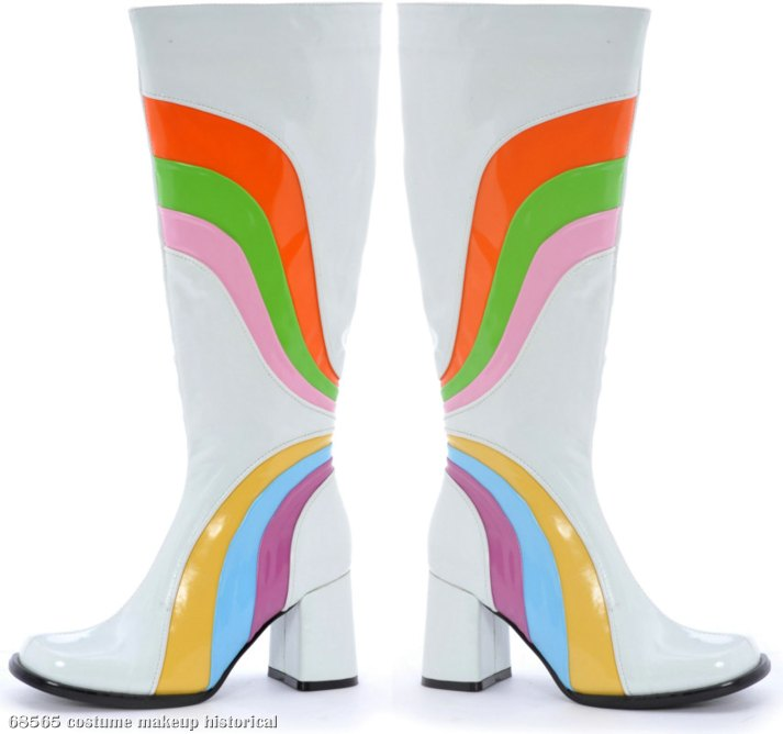 Jiggy (White) Adult Boots