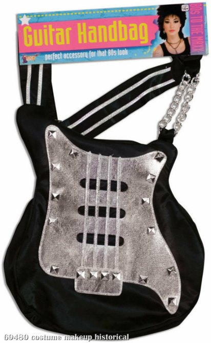 80s Rock Guitar Handbag