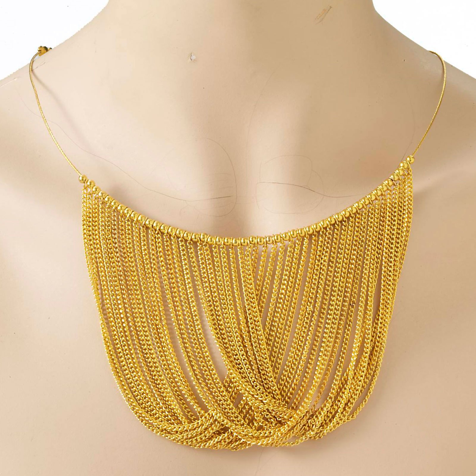 Disco Chain Adult Necklace