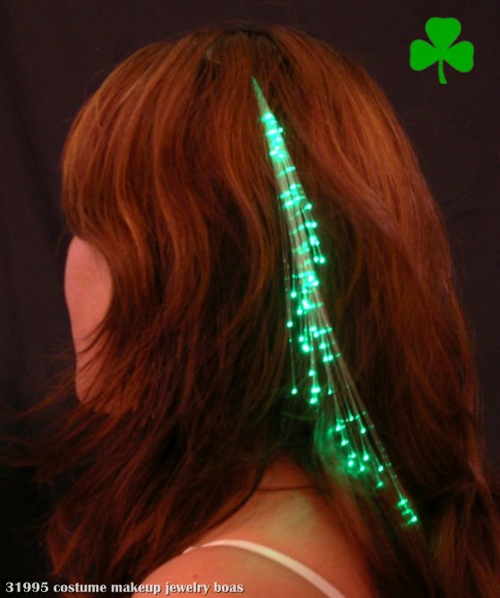 Glowbys Green Hair Accessory