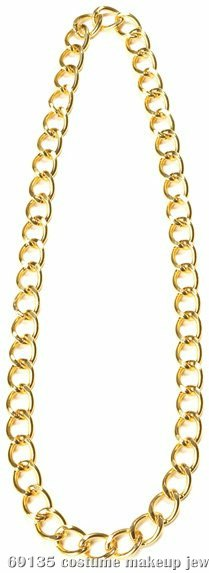 "34"" Gold Chain Adult"