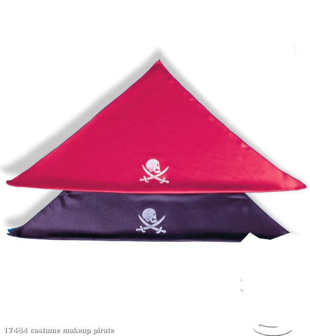 Pirate Bandana - Satin