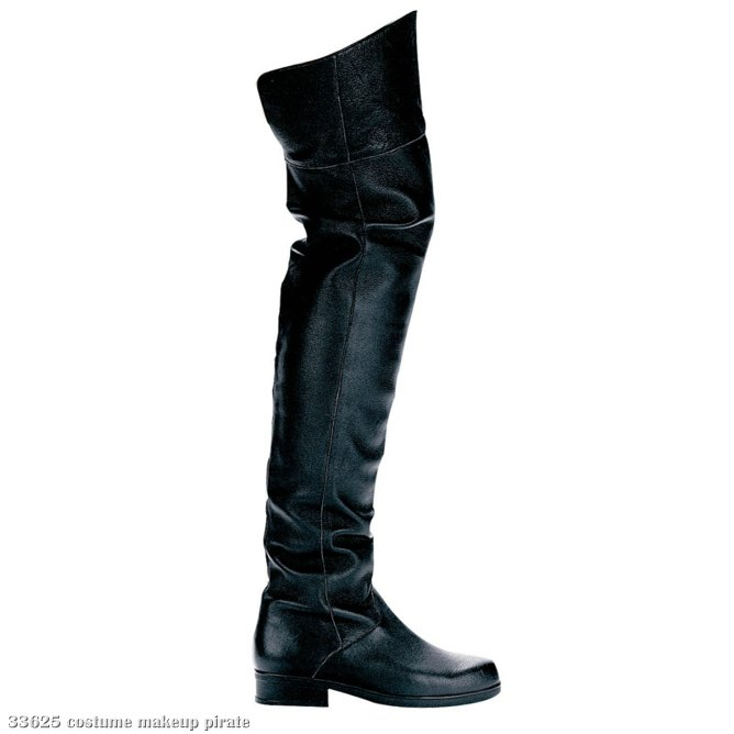 Tyler (Black) Adult Boots