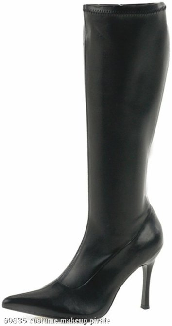 Lust Boots Adult Black