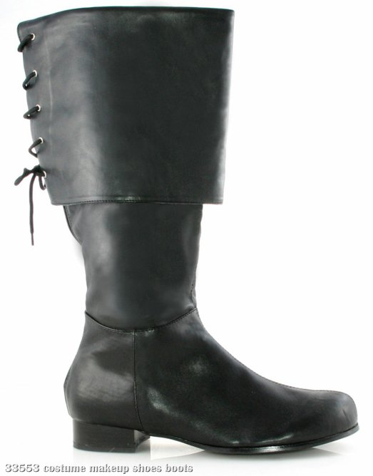 Sparrow (Black) Adult Boots