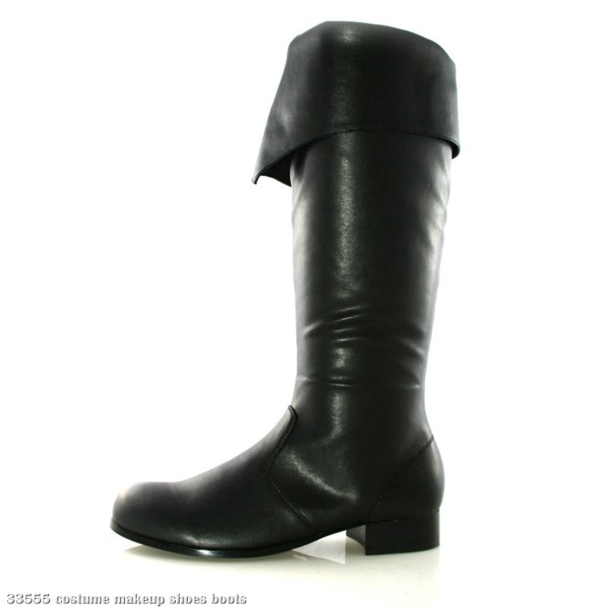 Bernard (Black) Adult Boots