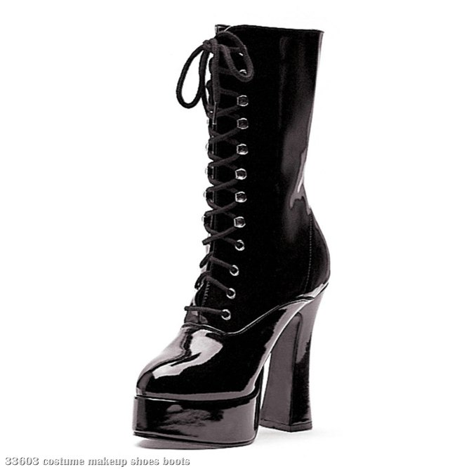 Dolly (Black) Adult Boots