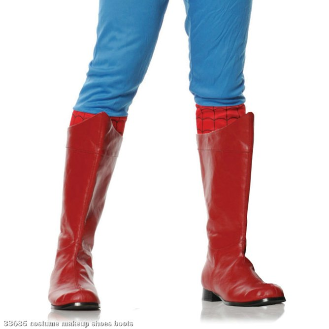 Shazam (Red) Adult Boots