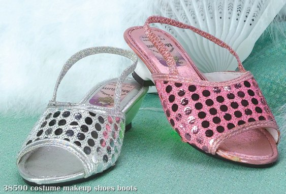 Sequined Sandals (Pink) Child