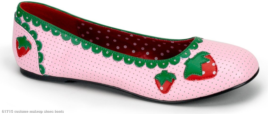Strawberry Flat Adult Shoes