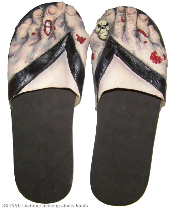 Zombie Feet (Women's) Adult Shoes