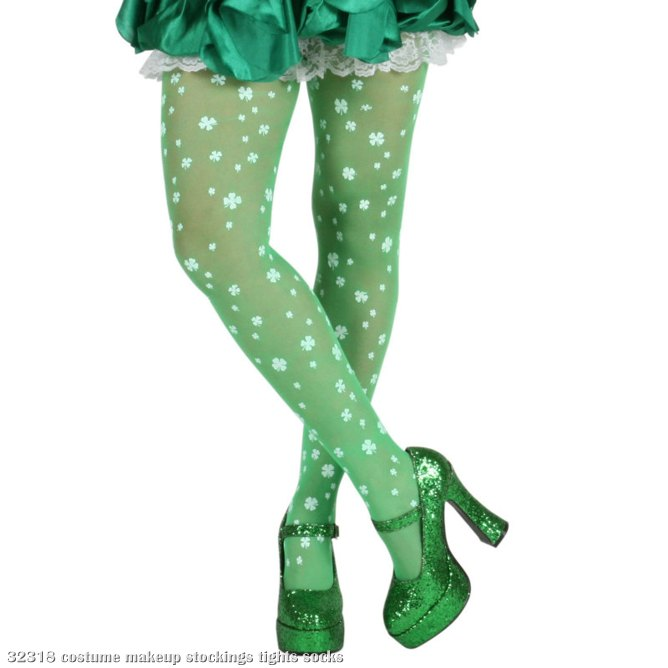 Shamrock Stockings (Green)