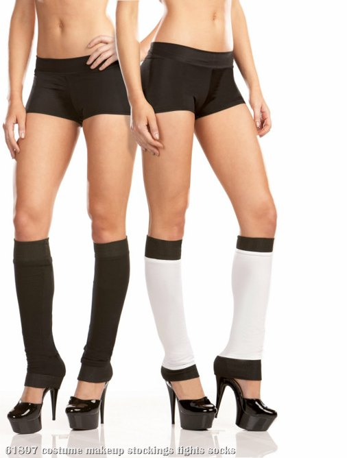 Leg Warmer (Black/White) Reversible Adult