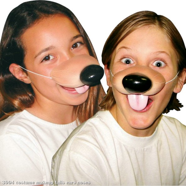 Nose Dog With Elastic