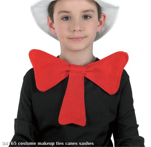 Cat In The Hat Bowtie Child Costume