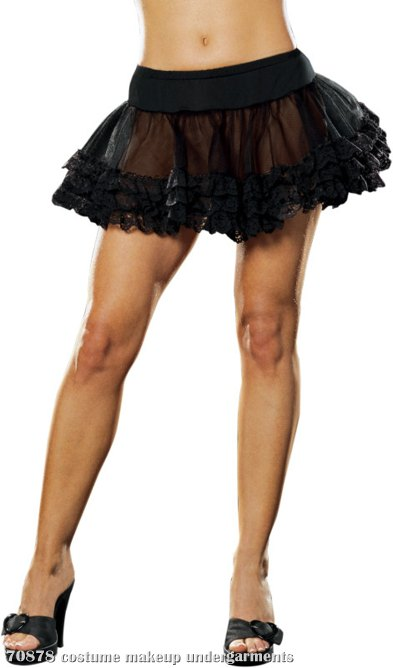 Angel Petticoat (Black) Adult