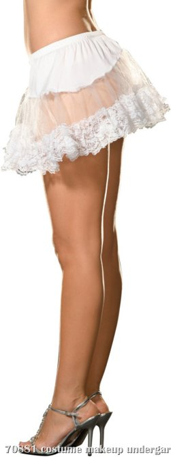 Angel Petticoat (White) Adult