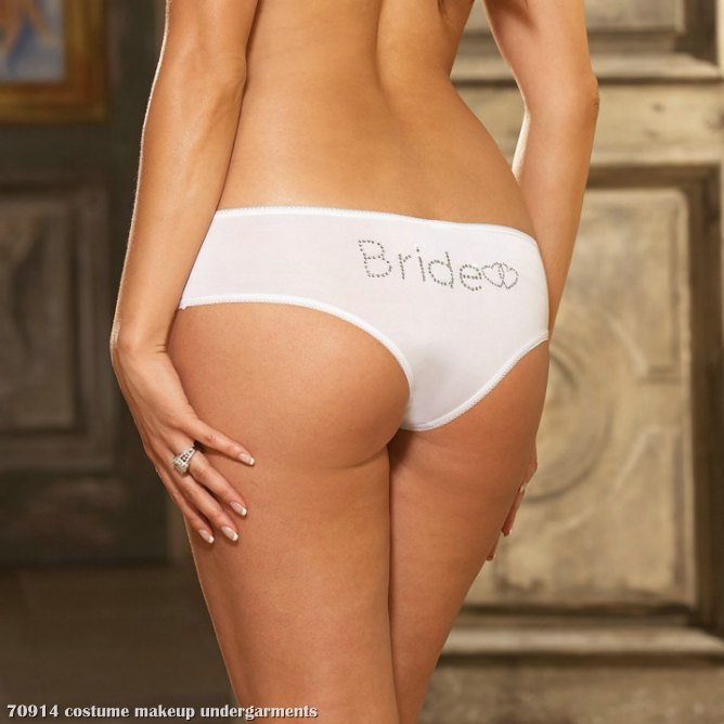 Bride Panty Adult Plus